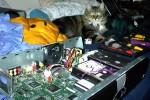 Big Kitty making sure I mod my tivo right.