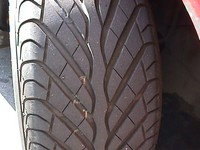92' Dodge Stealth RT aftermarket tire. Took this shot for a 3D project I worked on back in collage. Ownt ~6/98-present.