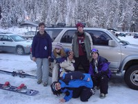 On a Snowboarding Trip!