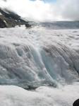 glacier water, as clean as it gets folks..
