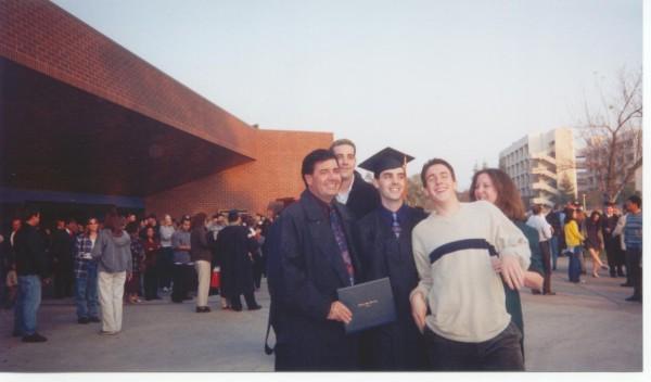 My family! (Dad, Mom, 2 bro's)