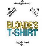 blonde T