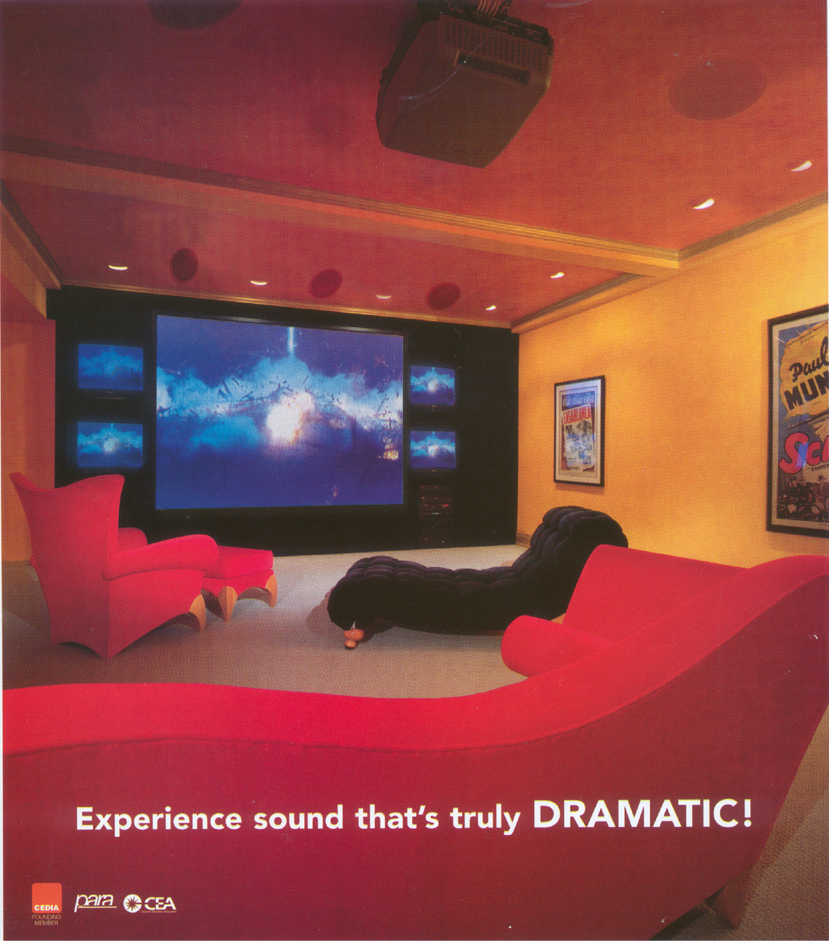 cool furniture (just an ad) - Audio Video Interiors, April 2003