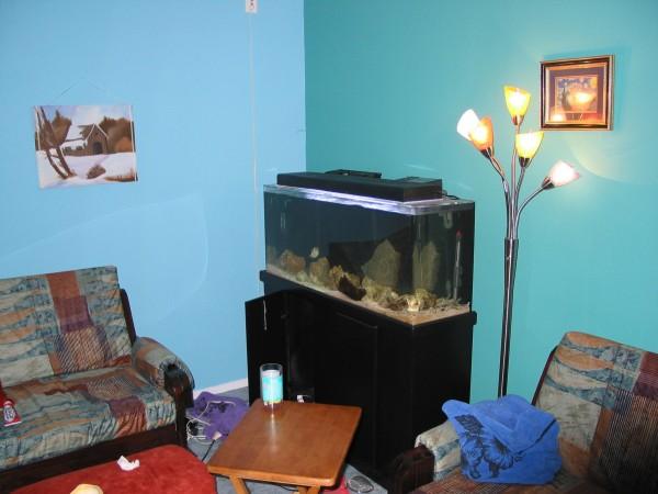 Corner of living room after!
