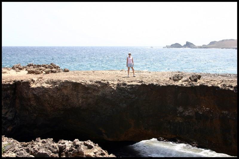 'Baby' Natural Bridge in Aruba