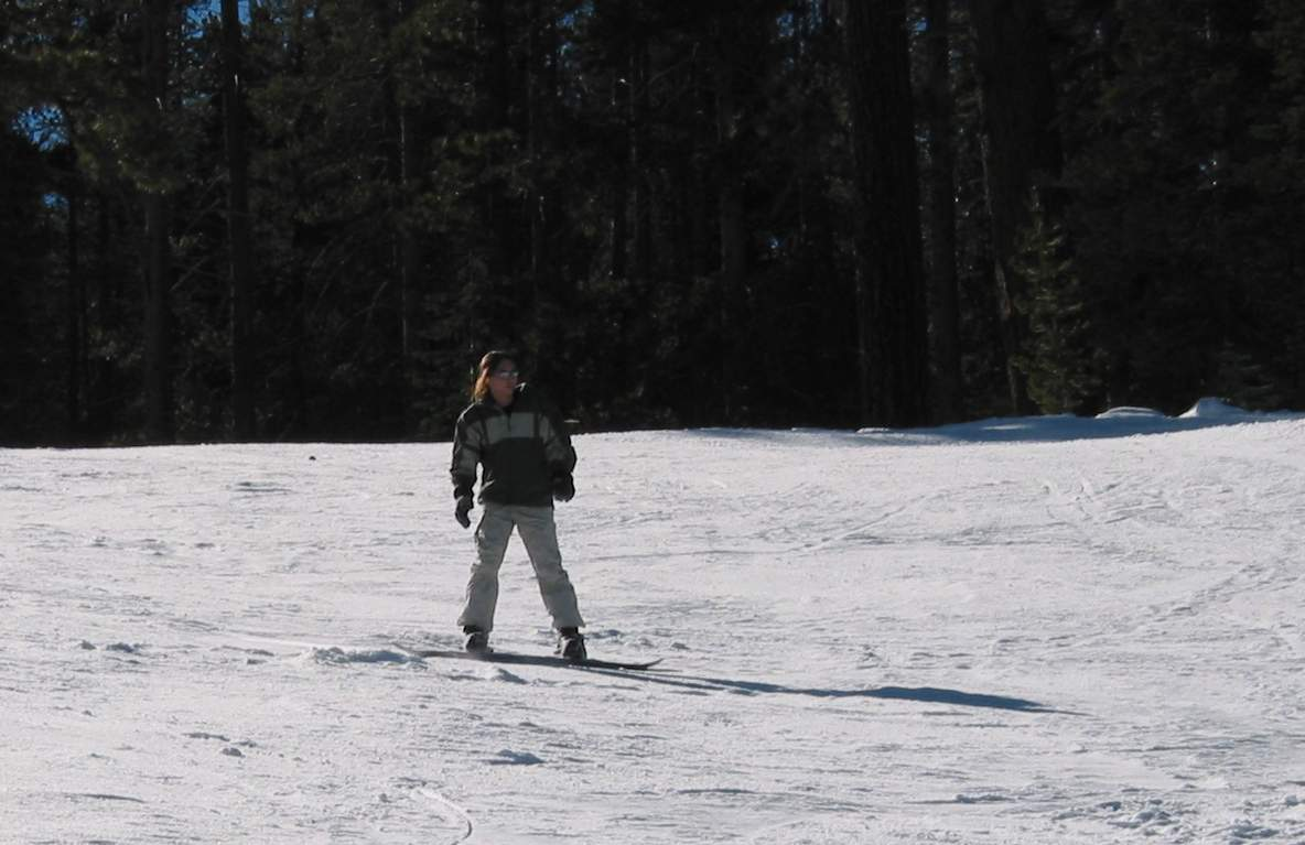 Action Busting out on the snowboard  >:)
