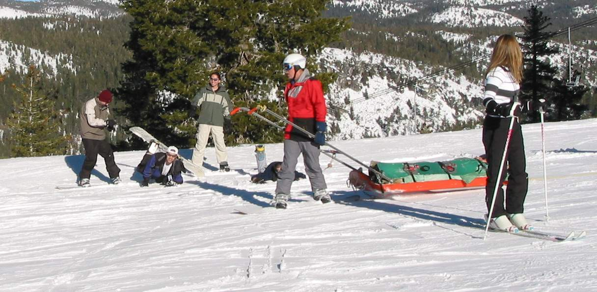 Snowboard Patrol came to help Who and What!! =)