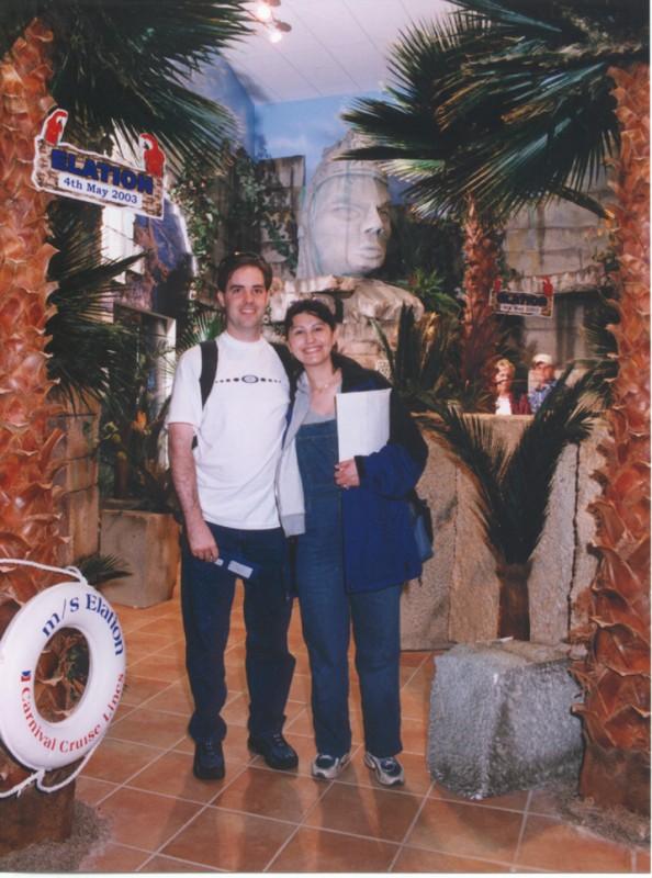 Bon Voyage picture Grace snuck us! Thanks Grace!