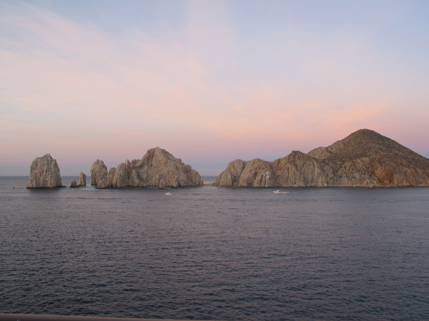 Rock formations at Cabo San Lucas from in the Sea of Cortez. See more in the Scuba/Snorkling section of the gallery!
