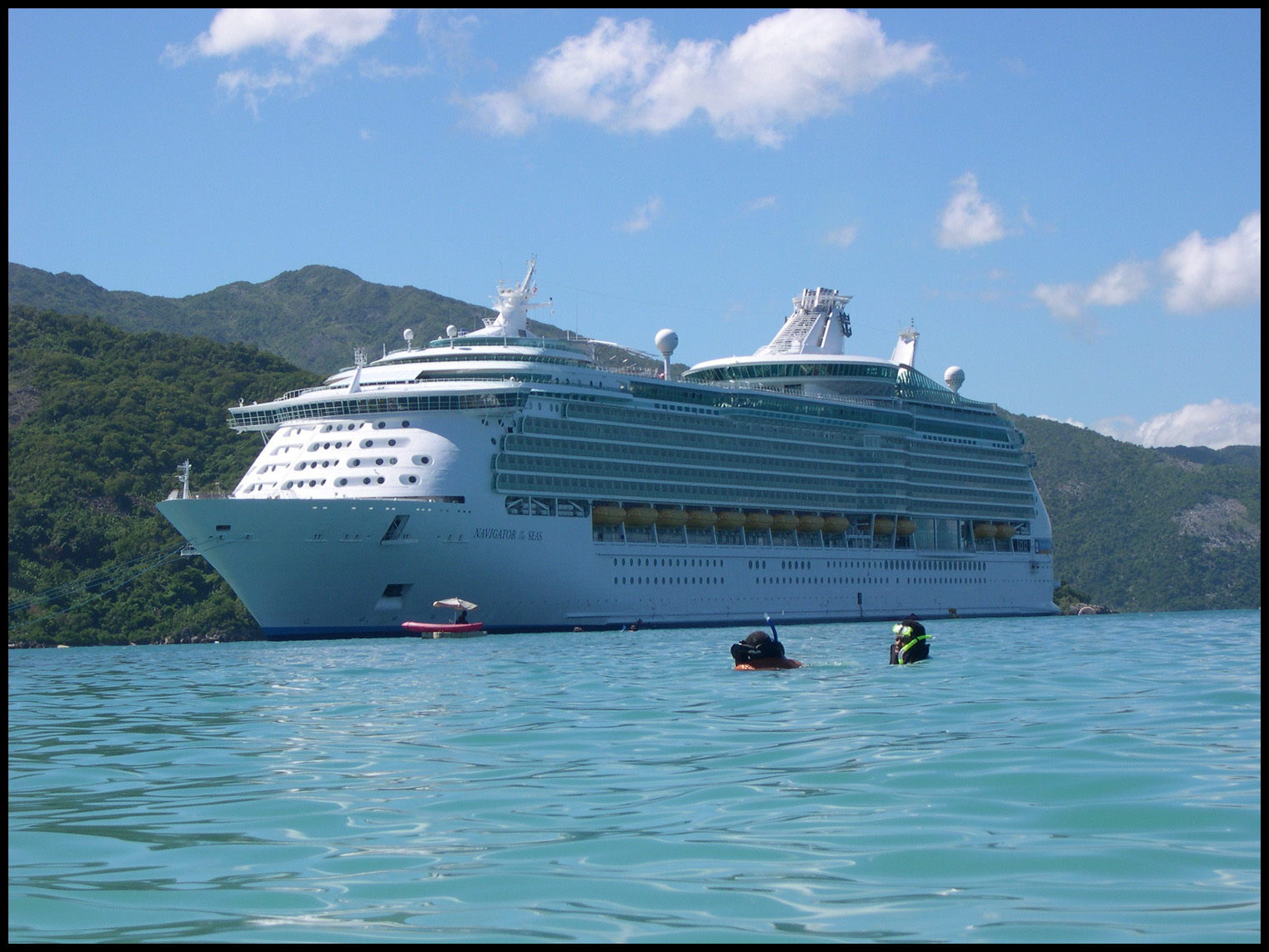 Another shot of the 'Navigator of the Seas'.